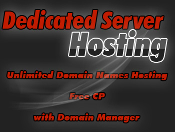 Half-priced dedicated server hosting accounts